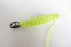 Häkelanleitung Ring mit Knopf