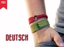 kostenlose Häkelanleitung Armband Sternschnuppe