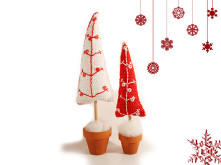 crochet pattern christmas trees