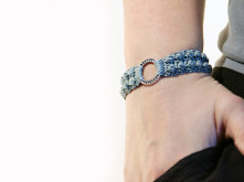 crochet bracelet pattern - burling bracelet by MudenoMade
