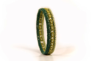 crochet pattern bangle romana