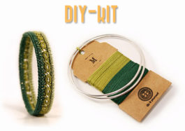 DIY Kit Armreif - DIY Kit bangle bracelet