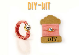 DIY Kit Kristall Ring - DIY kit crystal ring