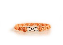 crochet pattern infinity bracelet