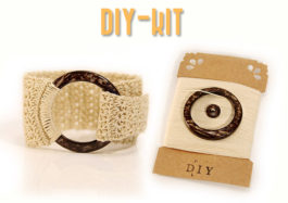 DIY Kit Crochet Cuff bracelet MudenoMade Mudeno